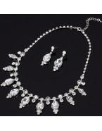 Parure bijoux mariage, doré