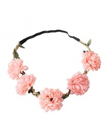 Headband mariage fleurs colorées