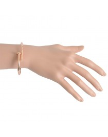Bracelet clou, rose gold