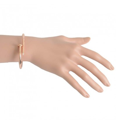 Bracelet clou, rose gold