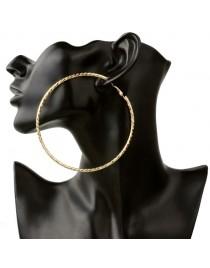 Boucle d'oreille créole dorée