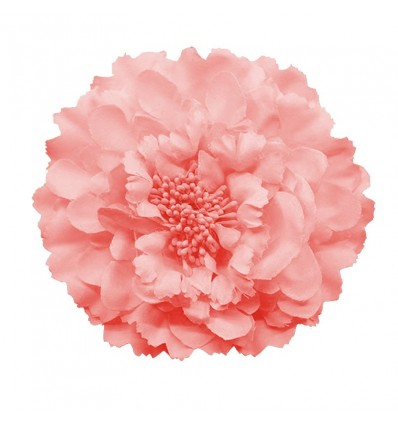 Fleur pour cheveux, rose
