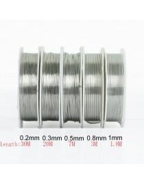 Fil en laiton pour bijoux doré 0.2 mm, x1