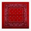 Foulard bandana, rouge foncé