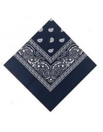 Foulard bandana, bleu marine