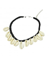 Collier ras de cou coquillages
