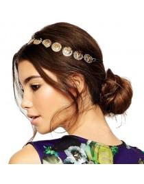 Headband pièces dorées