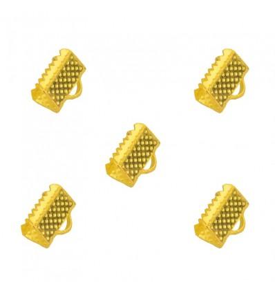 Support bracelet doré