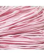 Fil bijoux en coton ciré, rose clair - 5m