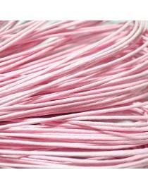 Fil pendentif rose clair