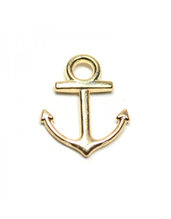 56648047f250c Breloques ancre marine, doré - x10 - My Trendymood