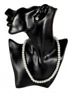 Parure mariée perles blanches