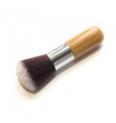 Pinceau maquillage bois teint