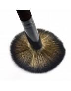 Pinceau maquillage poudre, noir