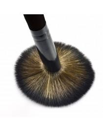 Pinceau maquillage poudre noir