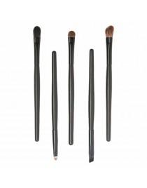 Set pinceaux de maquillage noir